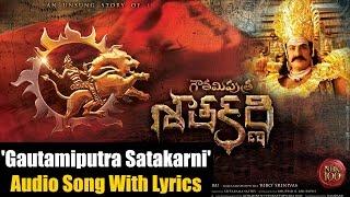 'gautamiputra Satakarni' Title Song With Lyrics
