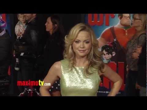 Marisa Coughlan WRECK-IT RALPH World Premiere Cherry-Red Carpet ARRIVALS
