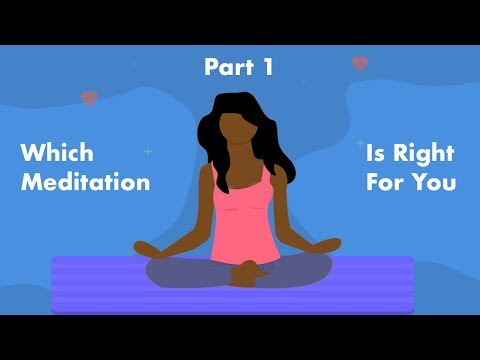 6 Different Types Of Meditation (Part 1)