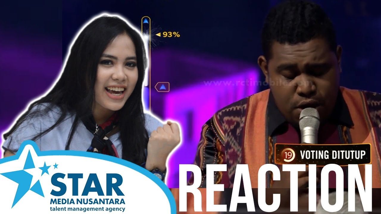 Rising Star Indonesia Reaction (Andmesh