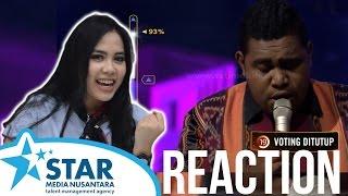 "Rising Star Indonesia Reaction (Andmesh ""Dia"")"