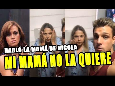 MAMÁ DE NICOLA PORCELLA NO QUIERE QUE REGRESE CON ANGIE ARIZAGA