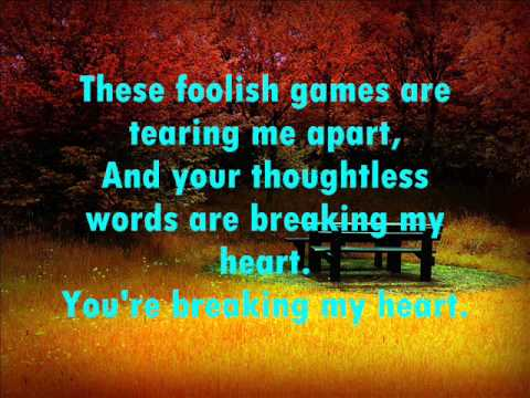 Jewel ft. Kelly Clarkson - Foolish Games (Lyrics)