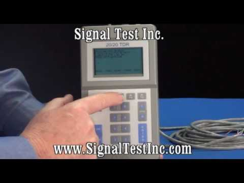TDR Time Domain Reflectometer Part 7 - TDR Save Traces