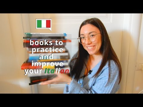 Italian Books And Books In Italian You Can Read To Practice And Improve (ITA Audio, Subtitled)