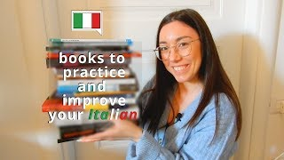 Italian books and books in Italian you can read to practice and improve (subs)