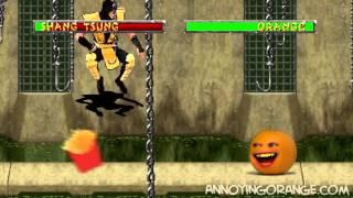 Надоедливый апельсин и Mortal Kombat