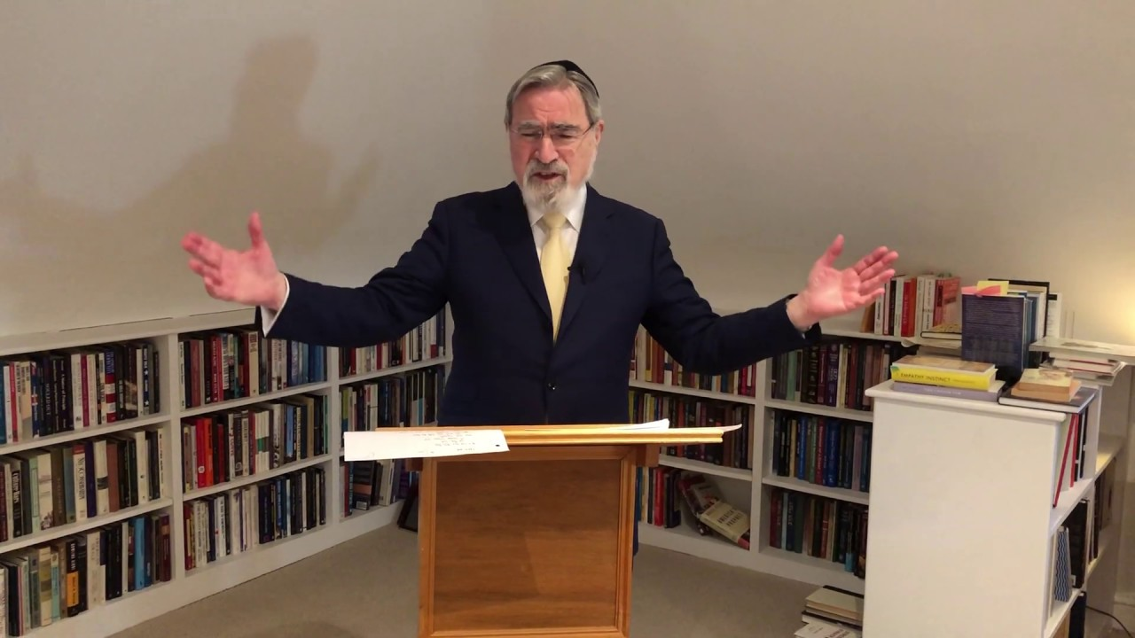 A D'var Torah by Rabbi Sacks on Vayakhel-Pekudei in the age of the coronavirus pandemic
