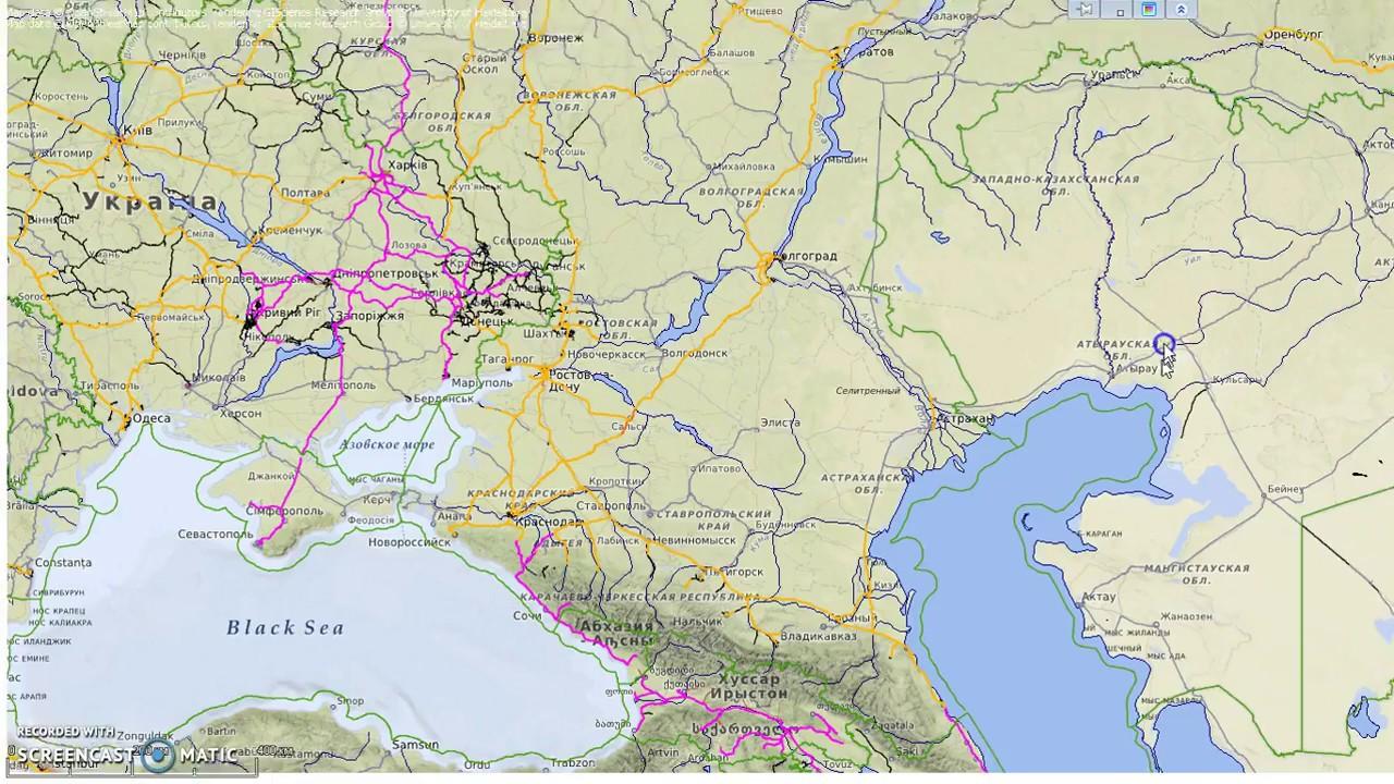 фото карта россии