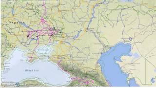железные дороги карта России