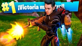 MI MEJOR PARTIDA con el JETPACK de Fortnite Battle Royale! - TheGrefg