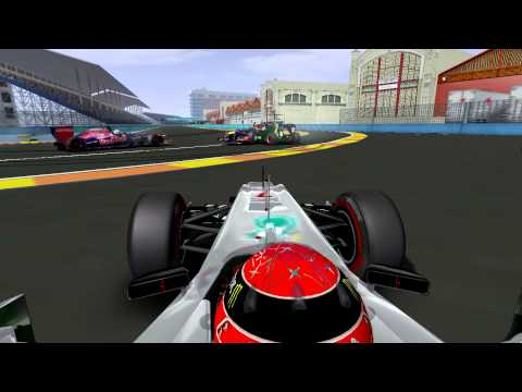F1 2012 rFactor FAIL