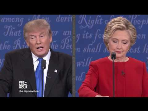 Clinton and Trump on working with NATO