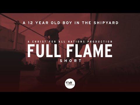 A 12 year old boy in the shipyard