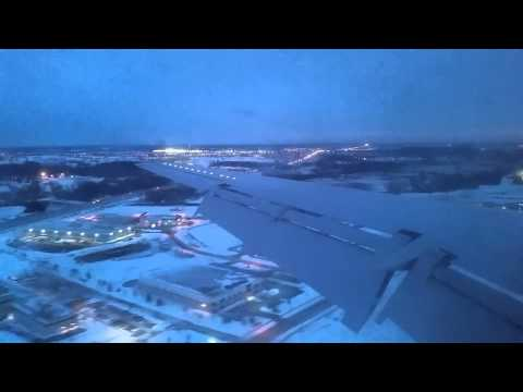Embrauer EMB-145 Landing In Madison, WI (MSN)