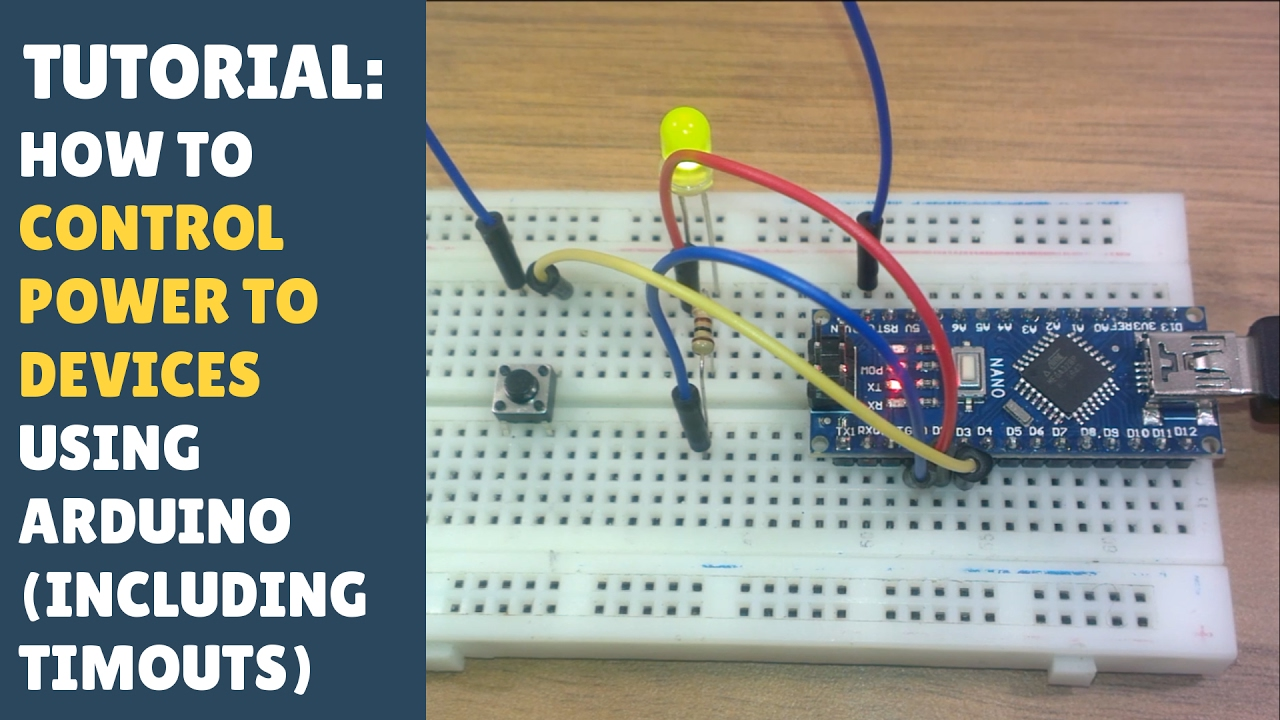 Tutorial how to control power low devices using