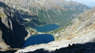 A trek in the Polish High Tatras