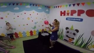 Шоу мыльных пузырей / День рождения дочки Софьи
