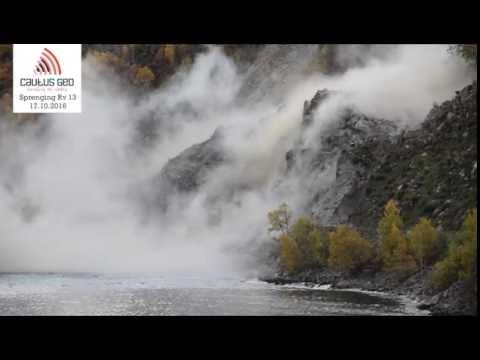 Fjellsprenging Rv13 - Deildo, Hardanger