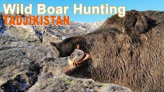 Wild Boar Hunting in Tadjikistan