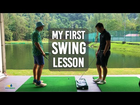 Pain Free Golf Swing – My First Ever Swing Lesson – Back to Basics