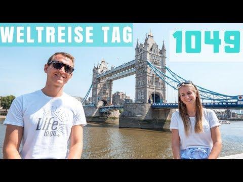 Weltreise Tag 1049 in London • Tower Bridge, Sky Garden, Harrods... | VLOG #366