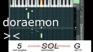 Solmisasi | Not Angka Lagu Doraemon