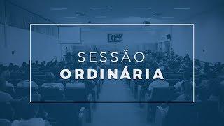 Sessão Ordinária - 04.06.19