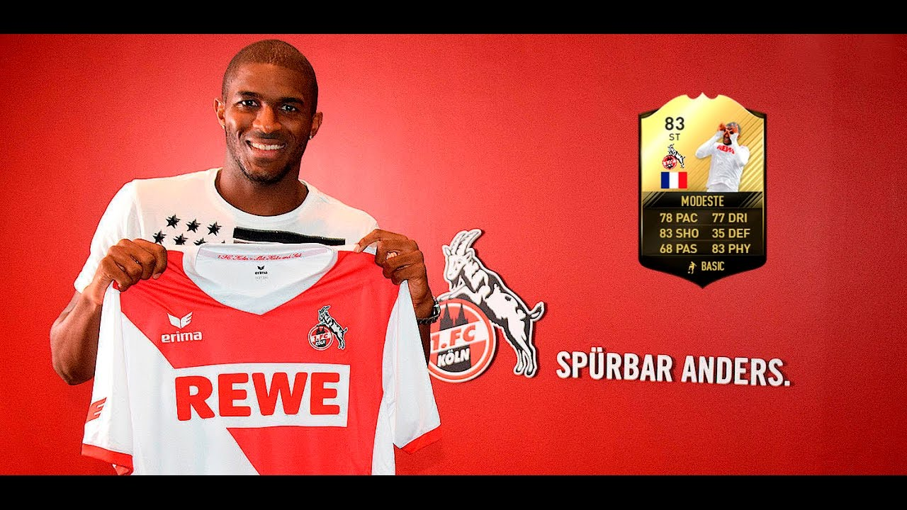 Fifa  If Anthony Modeste  Player Review Ultimate Team