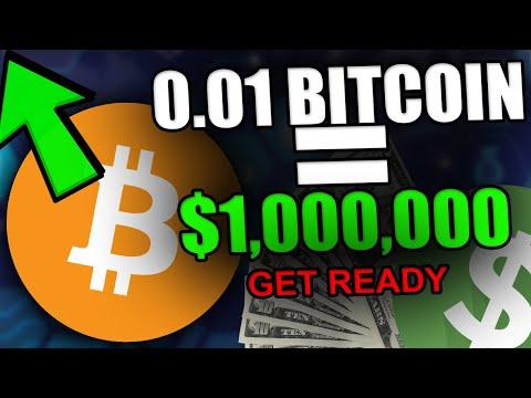 0 01 BTC WILL MAKE YOU A MILLIONAIRE! -  HUGE BITCOIN DATA