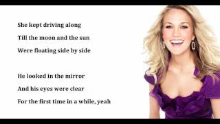 Wasted- Carrie Underwood (with lyrics)