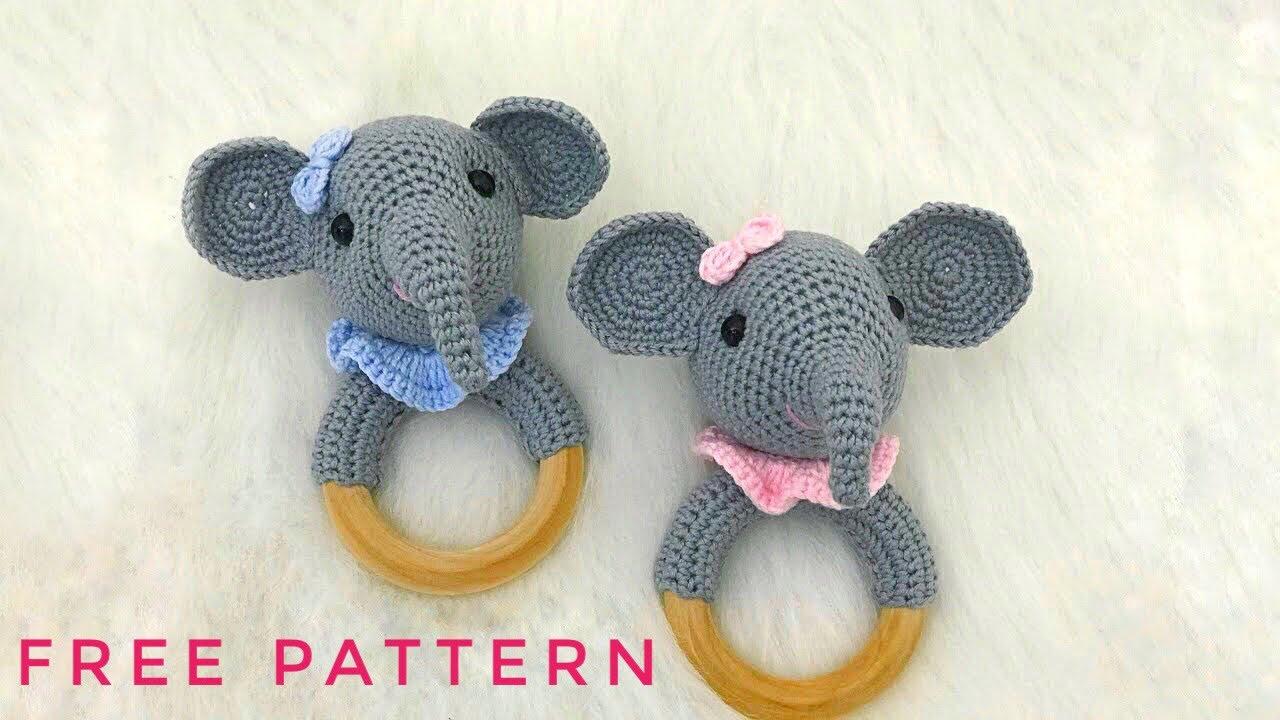 Amigurumi Crochet Elephant Pattern | Supergurumi | 720x1280