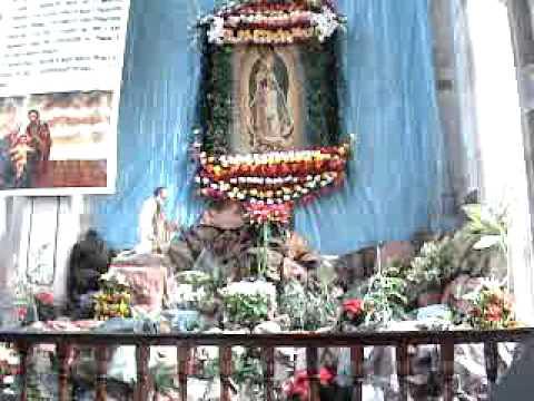 Escuinapa Altar A La Virgen De Guadalupe Iglesia La