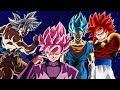 Top 10 Dragon Ball Transformations (DBZ, DBS & DBGT)