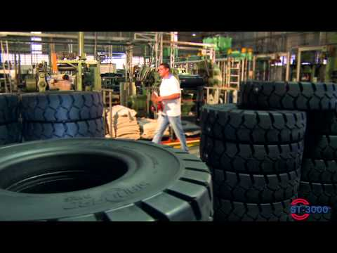 ST-3000 Standard Tyres, high-tech in forklift solid tyres