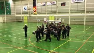 Drumband Excelsior Losser - Nederlands Kampioenschap in Wijchen, 20 januari 2018