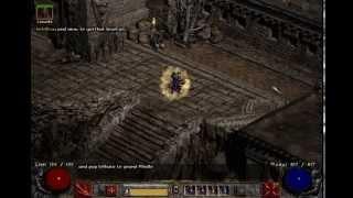 Vanilla SC 1.13d Pure Blizzard sorceress Kobilica reaching lvl 96 on Pindleskin