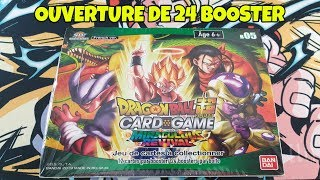 OUVERTURE DISPLAY/24 BOOSTER BT5 MIRACULOUS REVIVAL  [DRAGON BALL SUPER CARD GAME ]