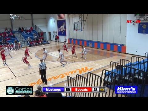 Gordon-Rushville Basketball vs Hemingford 2018