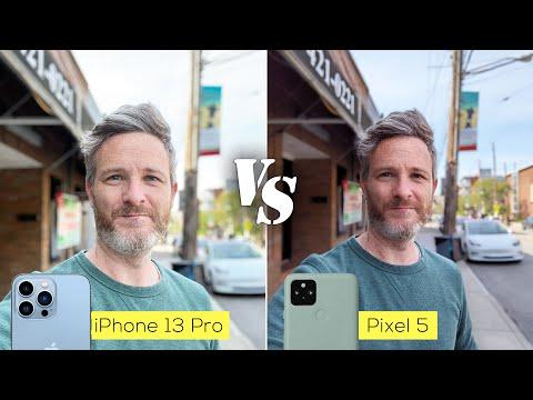 iPhone 13 Pro versus Pixel 5 camera comparison