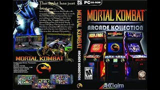 Baixar e instalar Mortal kombat arcade kollection PC/2019 //Gameplay (Win xp/vista/7/8 e 10)