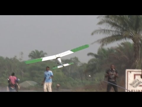 Inspiring: Nigerian Without A Degree Builds Mini-Aircraft