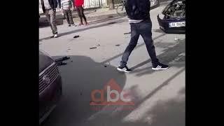 "Aksident ne kryeqytet parane shkolles ""Gjon Bozuku""| ABC News Albania"