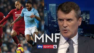 Who would Roy Keane rather win the Premier League; Manchester City or Liverpool? | MNF