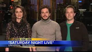 Game of Thrones Kit Harington hosts SNL