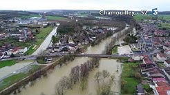 Inondations à Chamouilley (Haute-Marne)