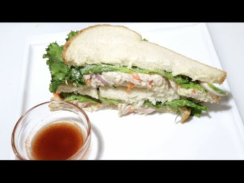 Chicken Mayonnaise Sandwich | Easy chicken sandwich | Gourmet Food