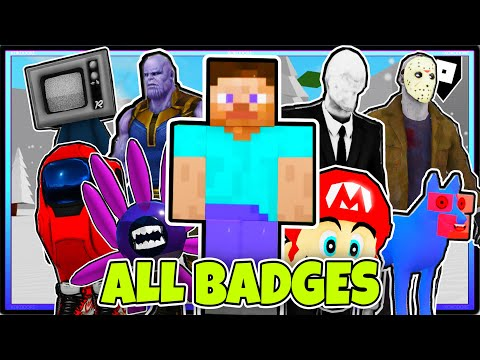 HOW TO GET ALL 100 BADGES In TREVOR CREATURES KILLER 2 | ROBLOX