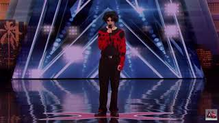 Goth Comedian Oliver Graves/ Anticipated Buzzers On AGT/ America's Got Talent 2018