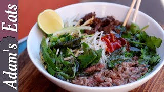 Traditional beef pho recipe (Vietnamese soup)  And im back!